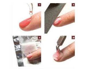 Как снять гель-лак или лак с ногтей?